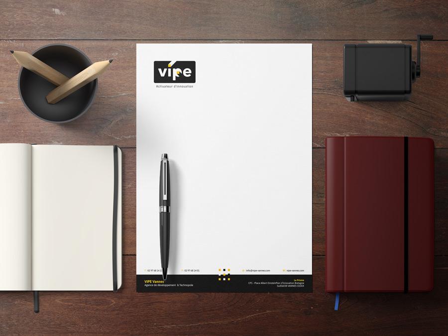 Papier en-tête VIPE vannes