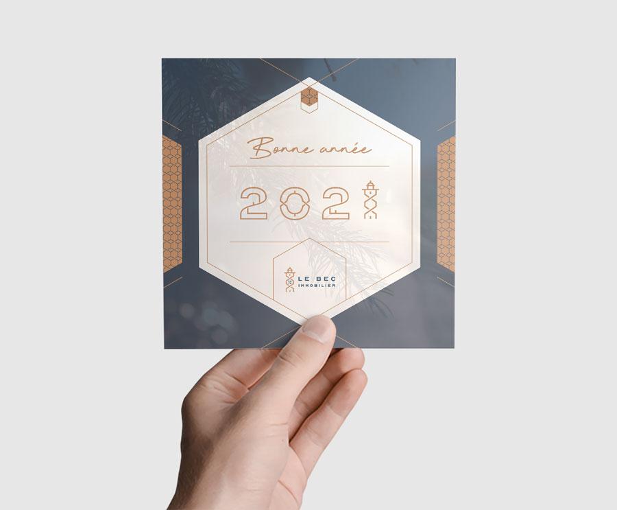 vœux LE BEC immobilier 2021