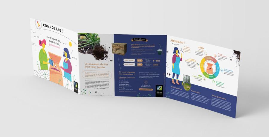 plaquette compostage du Pays d'Iroise