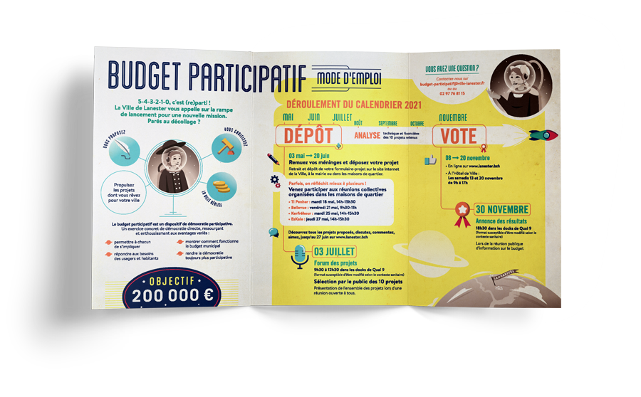dépliant 3 volet budget participatif 2021 lanester