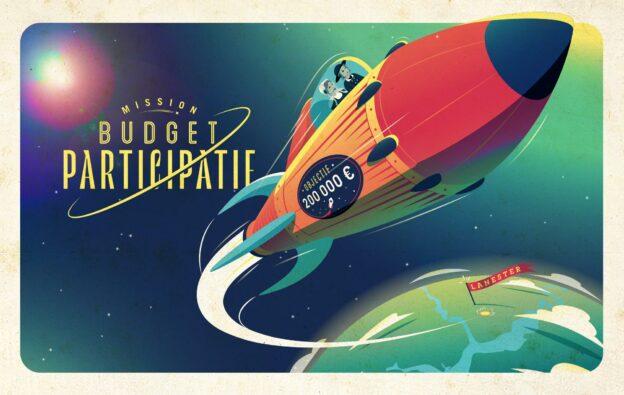 créa fusée budget participatif